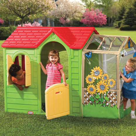 Evergreen Garden Cottage Playhouse